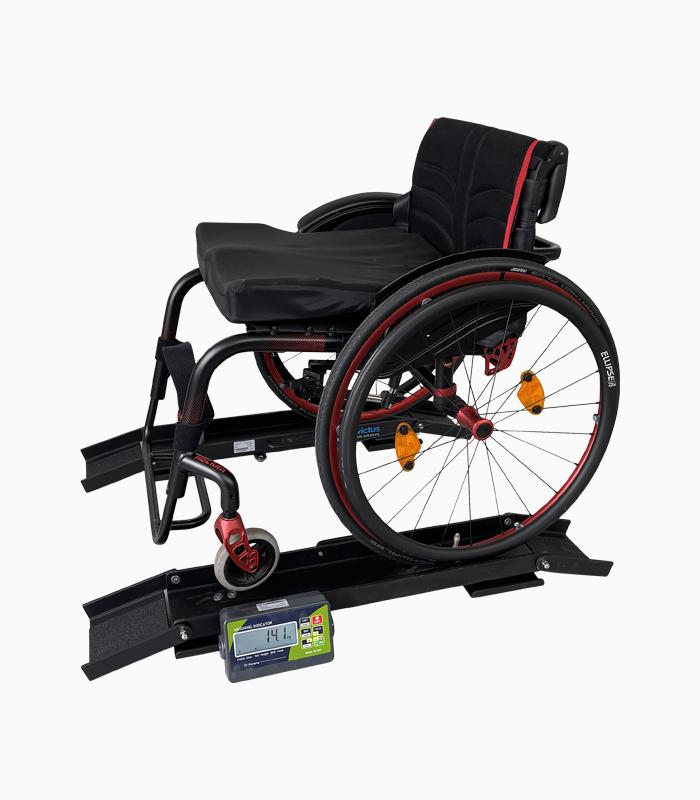 Portable wheelchair scales