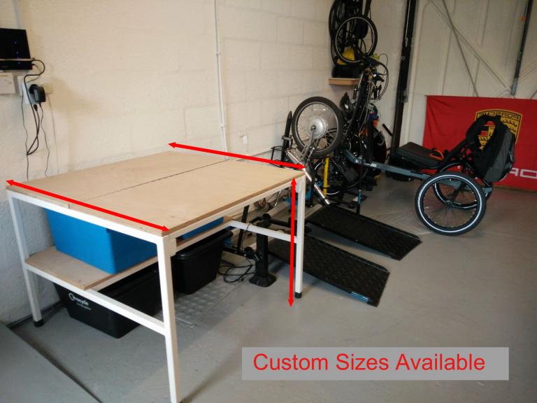 Workbench For Wheelchair