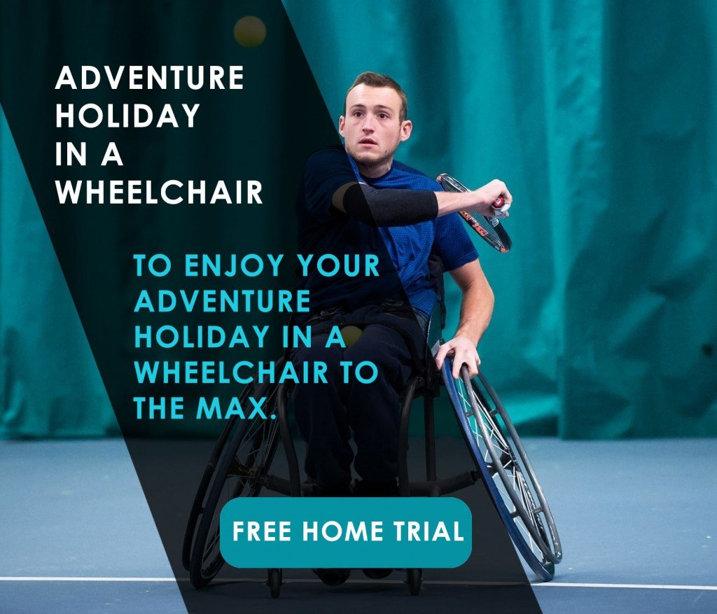 Adventure holiday in a wheelchair