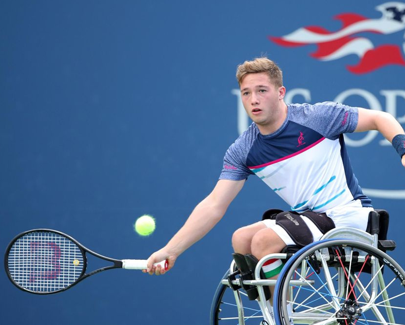Alfie Hewett wheelchair tennis