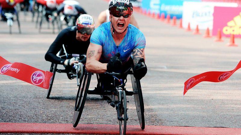 David Weir athletics