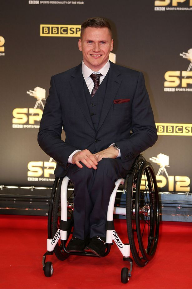 David Weir Wheelchair racer
