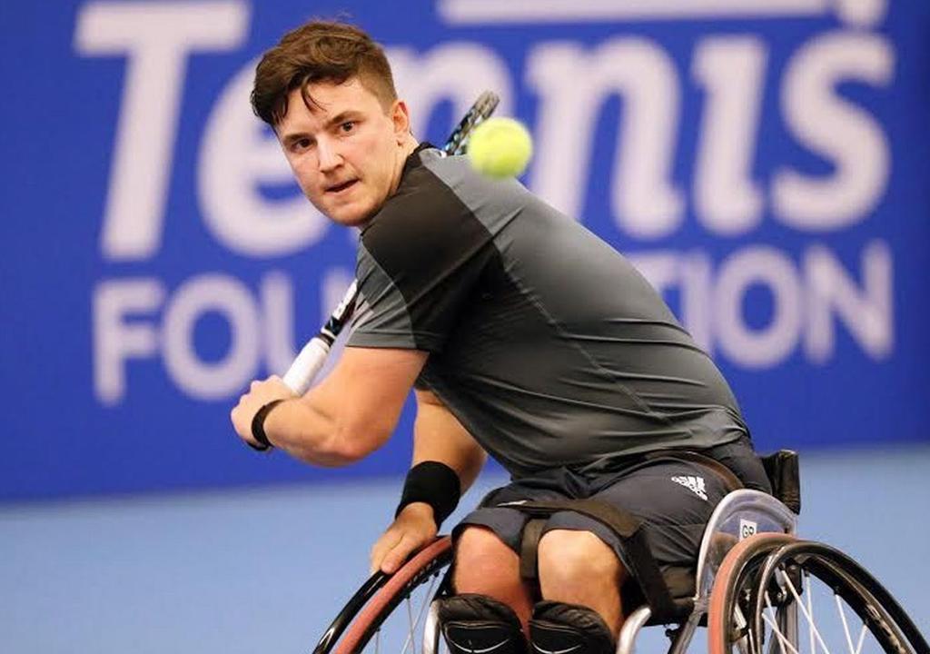 Gordon Reid wheelchair tennis