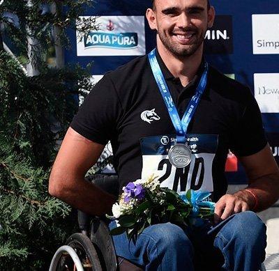 London marathon winner David Weir