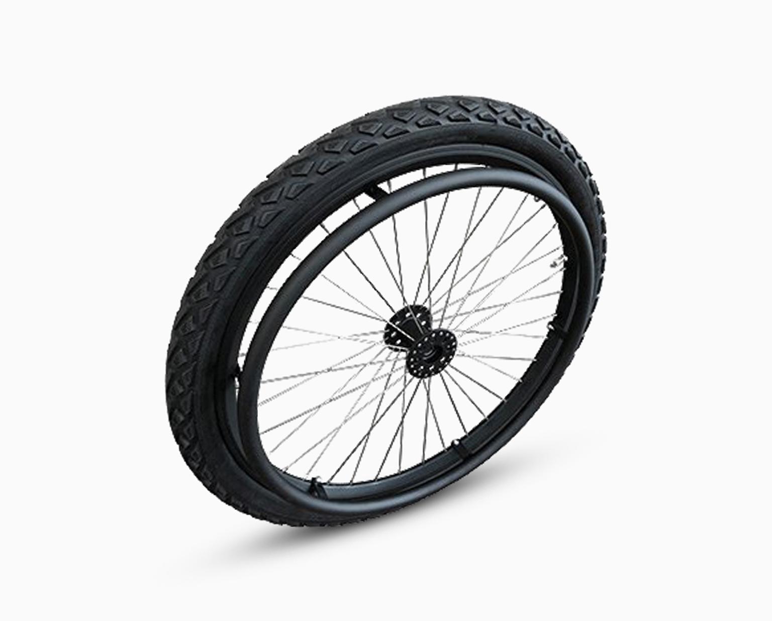 Off Road wheelchair wheels
