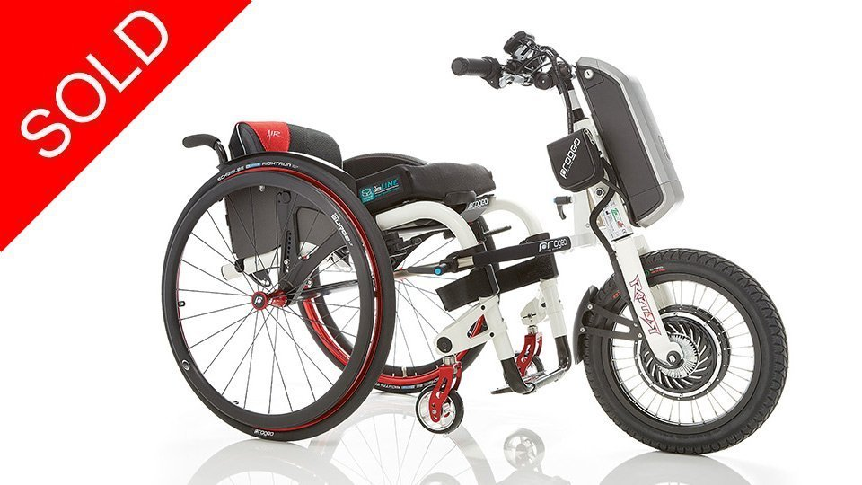 Used Second Hand Rio Firefly Wheelchair Power attachment