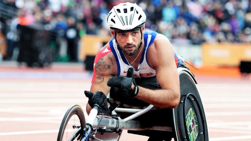 JohnBoy Smith wheelchair racer