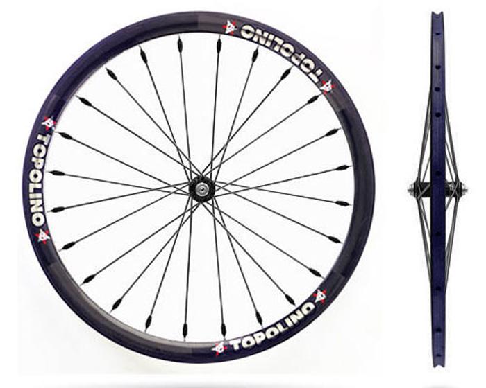 Topolino carbon core wheels