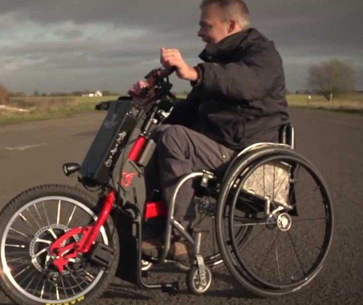 Batec Wheelchair Attachment