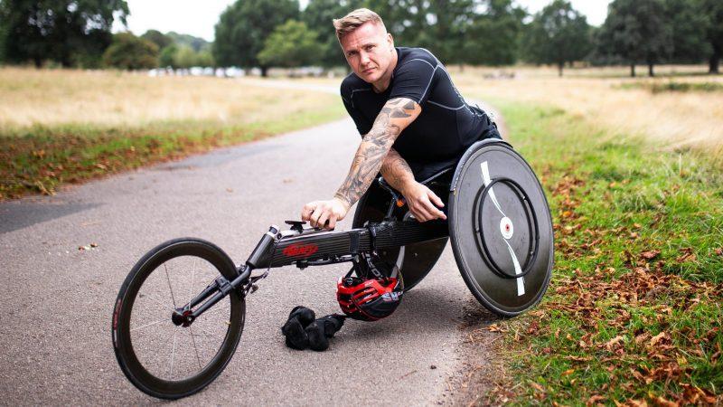 David Weir in British wheelchair athletics