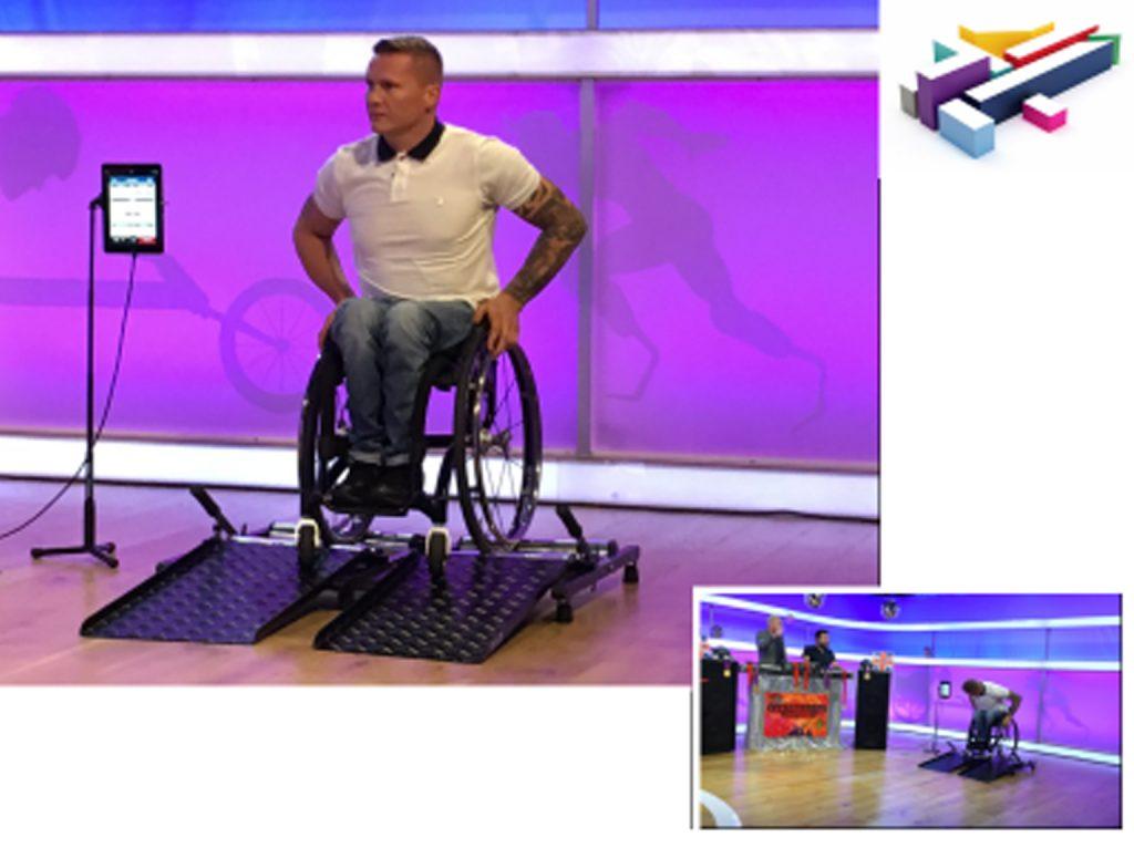 David Weir Wheelchair Rollers