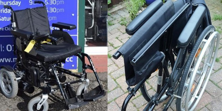 second hand used wheelchair