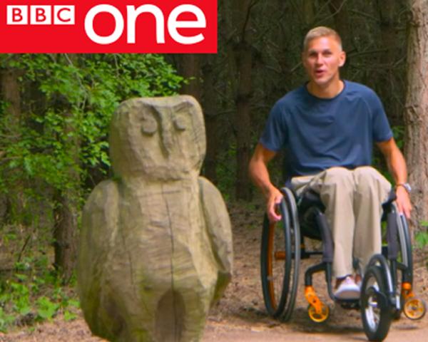 Wheelchair Presenter Countryfile