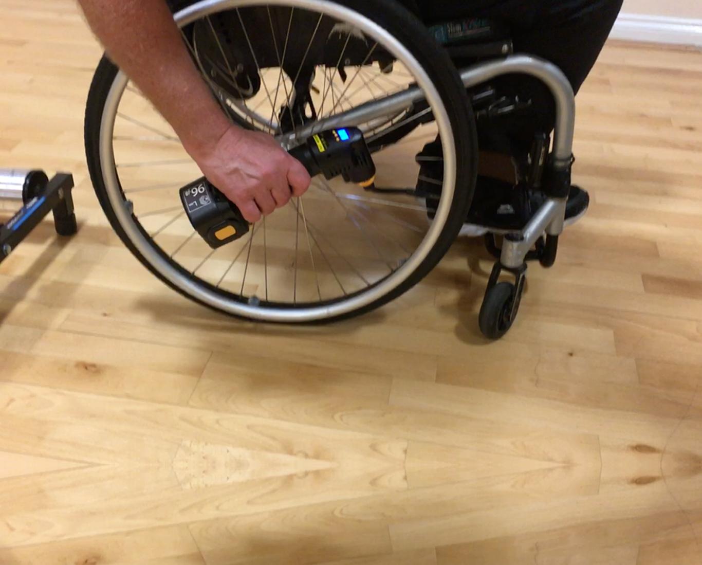 wheelchair tyre pump