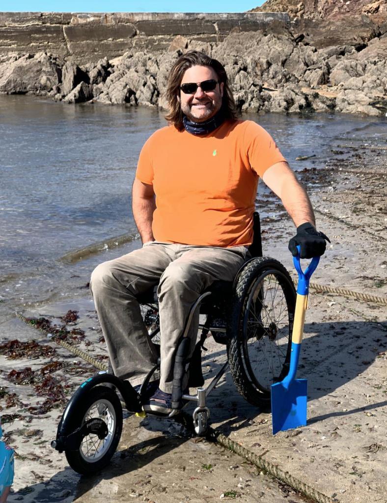 beach wheelchair latest